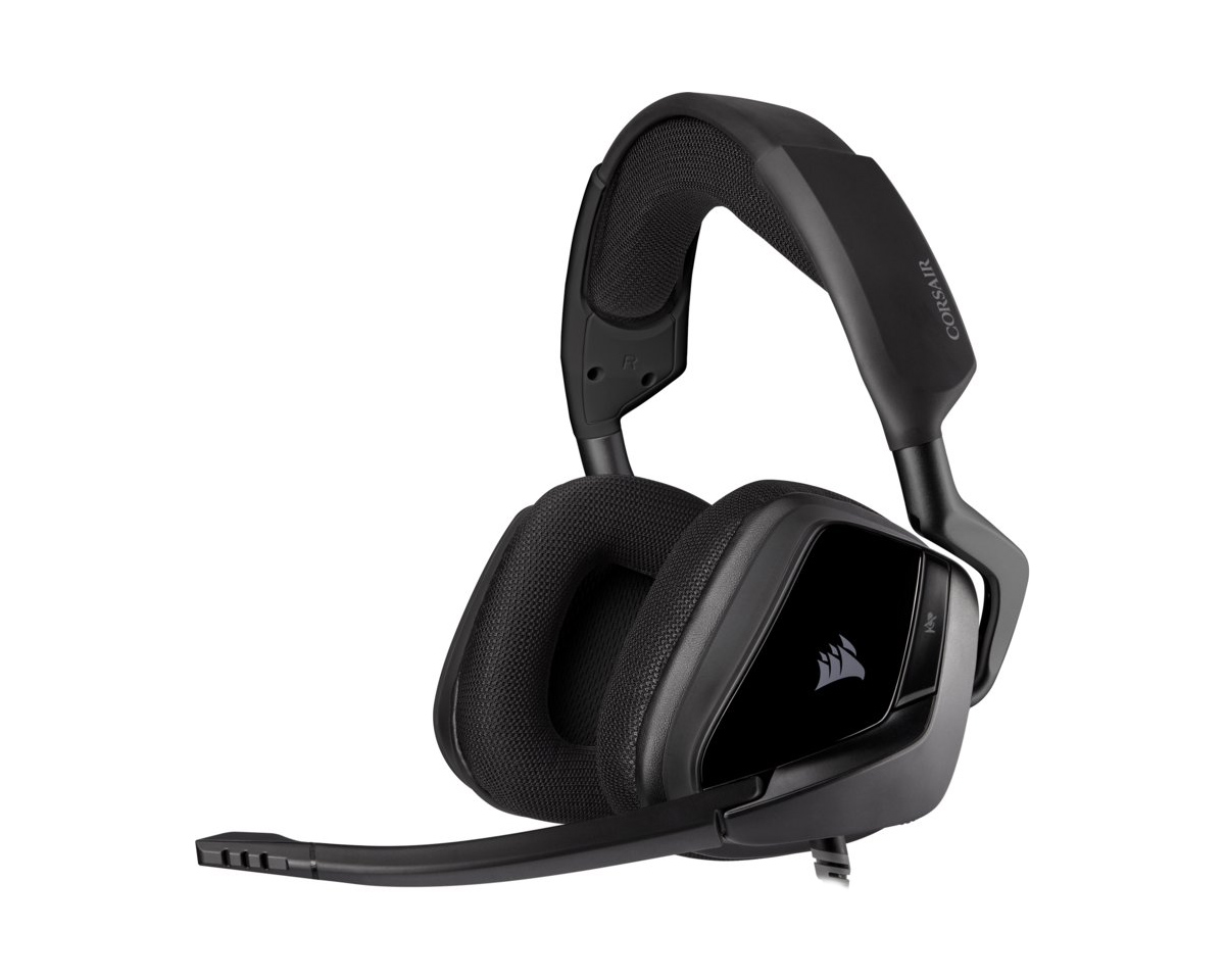 VOID ELITE Stereo Headset Carbon i gruppen Computertilbehør / Headset & Lyd / Gaming headset / Kablet hos MaxGaming (1001023)