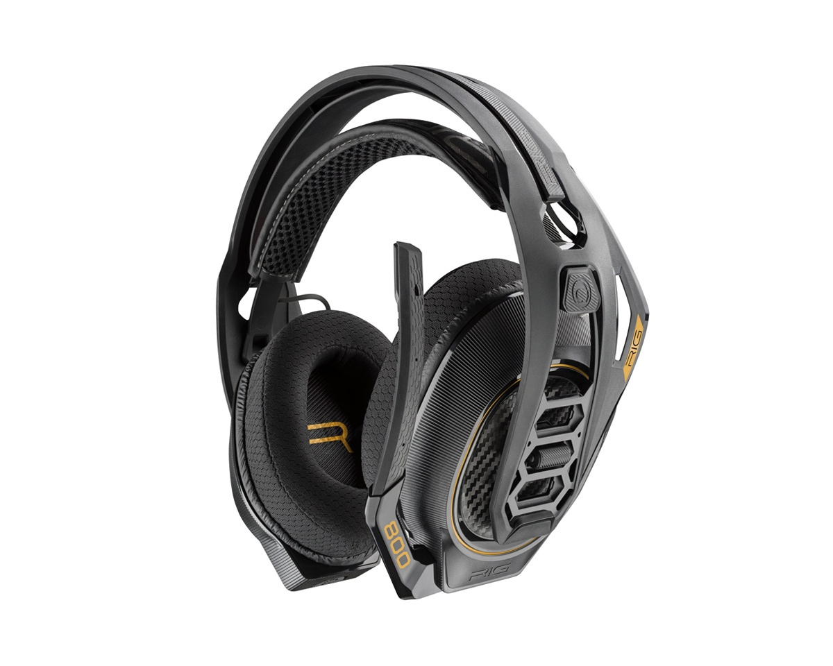 RIG 800HD Dolby Atmos Headset i gruppen Computertilbehør / Headset & Lyd / Gaming headset / Trådløse hos MaxGaming (11688)