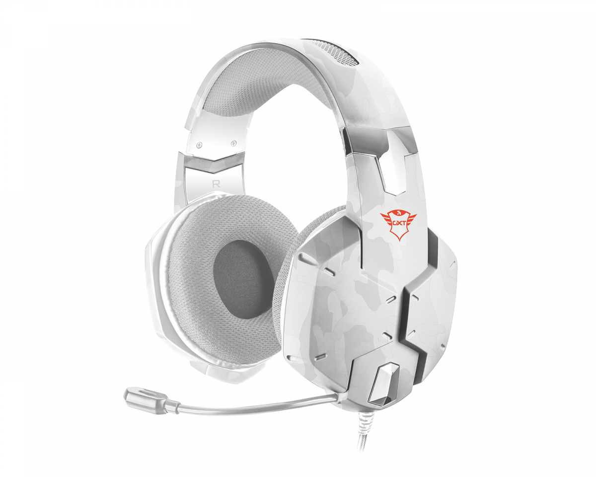 GXT 322W Carus Gaming Headset Snow Camo i gruppen Konsol / Xbox / Xbox One Tilbehør / Headsets hos MaxGaming (12767)