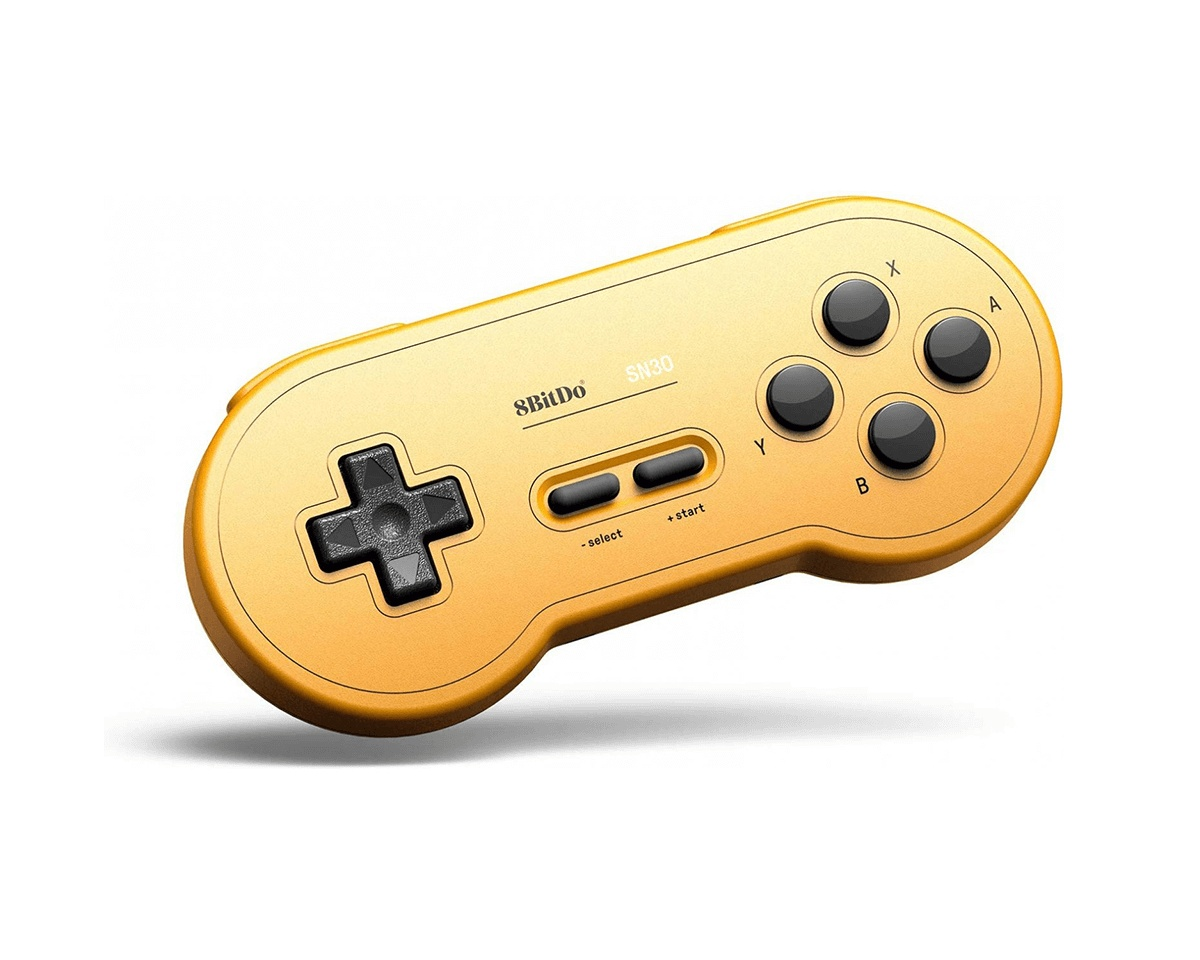 SN30 Bluetooth Controller (GP Yellow Edition) i gruppen Konsol / Nintendo / Switch Tilbehør / Kontroller hos MaxGaming (13416)