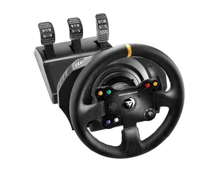 TX Racing Wheel - Leather Edition (Xbox One/PC) i gruppen Konsol / Xbox / Xbox One Tilbehør / Rat hos MaxGaming (10275)