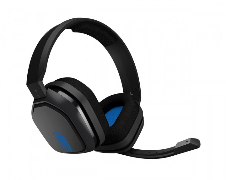 A10 Gaming Headset Blå (PS4/PS5) i gruppen Computertilbehør / Headset & Lyd / Gaming headset / Kablet hos MaxGaming (10985)
