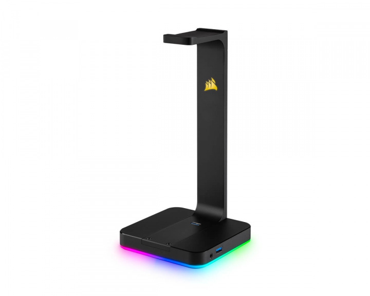 ST100 RGB Premium Headset Stand 7.1 Surround Sound i gruppen Computertilbehør / Headset & Lyd / Headsettholder hos MaxGaming (11412)