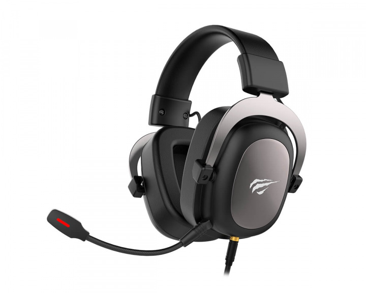 HV-H2002U Gaming Headset 7.1 Gun Metal i gruppen Computertilbehør / Headset & Lyd / Gaming headset / Kablet hos MaxGaming (13109)