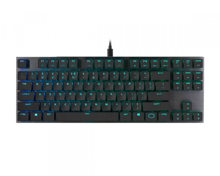 SK630 Low Profile RGB TKL Tastatur [MX Red] i gruppen Computertilbehør / Tastatur og tilbehør / Gaming tastatur hos MaxGaming (13737)